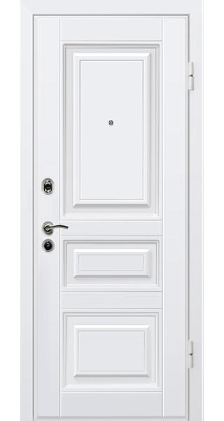 Входные двери Титан Классика белая