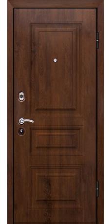 Входная металлическая дверь Титан Классика темная