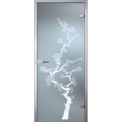 Межкомнатная стеклянная дверь AKMA САКУРА