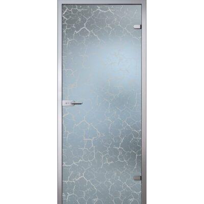 Межкомнатная стеклянная дверь AKMA КРАКЛЕ