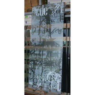 Межкомнатная стеклянная дверь AKMA ГРАФФИТИ