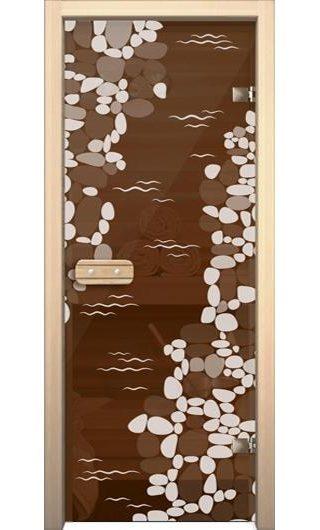 Дверь для бани AKMA Ручей