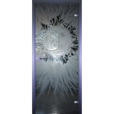 Межкомнатная стеклянная дверь AKMA Луна-Солнце