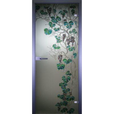 Межкомнатная стеклянная дверь AKMA ВИНОГРАД