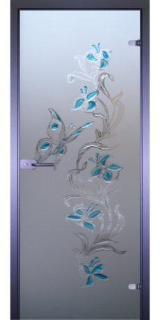 Межкомнатная стеклянная дверь AKMA Бабочка-2