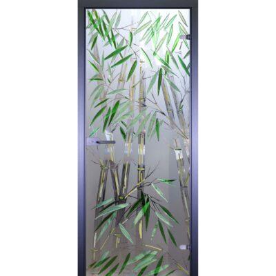 Межкомнатная стеклянная дверь AKMA Бамбуковая роща
