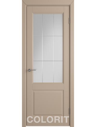 Межкомнатная дверь COLORIT К1 ДО