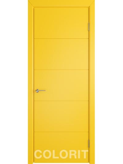 Межкомнатная дверь COLORIT К4 ДГ