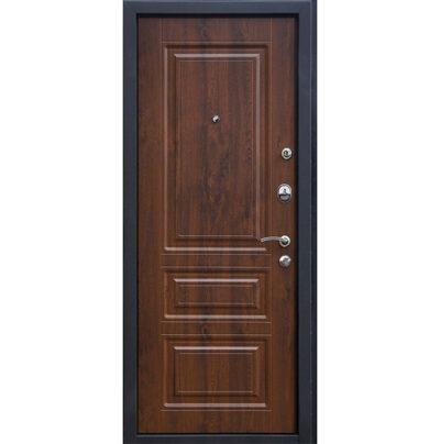 Входная металлическая дверь МеталЮр М11,Темный орех