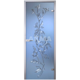 Межкомнатная стеклянная дверь AKMA ЛИЗИАНТУС