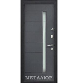 Входная металлическая дверь МеталЮр М36, Антрацит