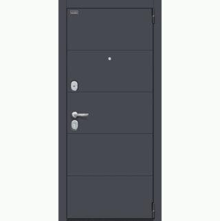 Входная металлическая дверь EL'PORTA Porta S 4.Л22 Graphite Pro/Virgin