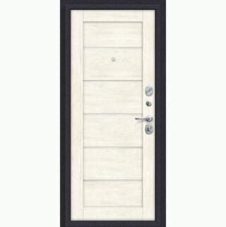 Входная металлическая дверь Эль порта Porta S 4.Л22 Graphite Pro/Nordic Oak