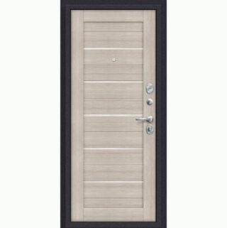 Входная металлическая дверь Эль порта Porta S 4.П22 Almon 28/Cappuccino Veralinga