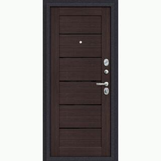 Входная металлическая дверь EL'PORTA Porta S 4.П22 Almon 28/Wenge Veralinga
