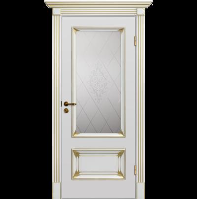Межкомнатная Дверь Барокко Патина 12