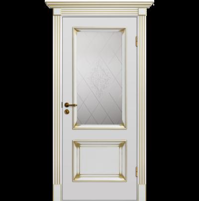 Межкомнатная Дверь Барокко Патина 4