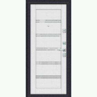 Входная металлическая дверь Эль порта Porta M 8.Л28 White Stark/Virgin