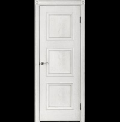 Межкомнатная дверь Юркас шпон Квадро-1 ДГ