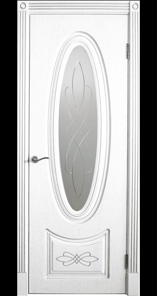 Межкомнатная дверь Юркас шпон Венеция-1 ДО