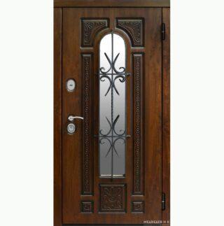 Уличная дверь Лувр
