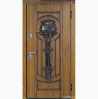 Уличная дверь Ампир